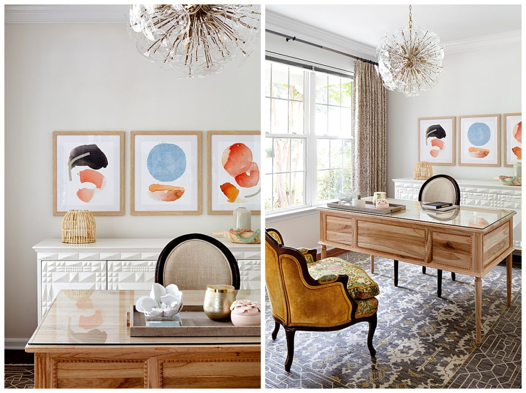 Julia Longchamps Design, Web Foot Remodel, Home Office, Styling, Maryland