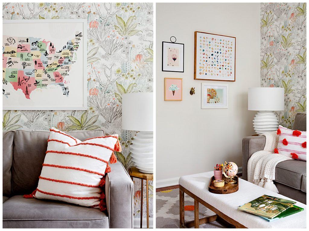 Julia Longchamps Design, Web Foot Remodel, Playroom Styling, Details, Maryland