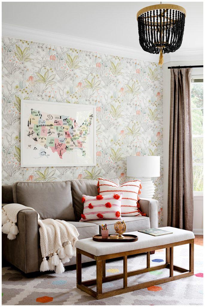 Julia Longchamps Design. Web Foot Remodel, Kids Room, Playroom, Maryland